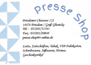 Presse-Shop Seibel