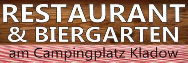 Restaurant und Biergarten am Campingplatz Kladow